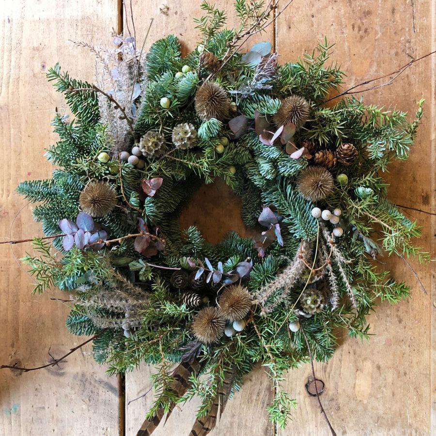Winter Woodland Christmas Wreath 2018