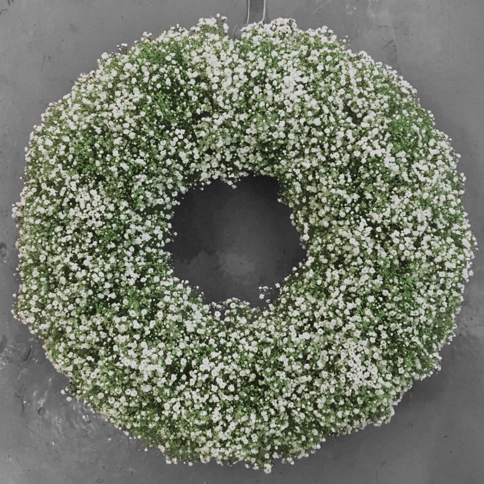 Snow Queen Christmas Wreath