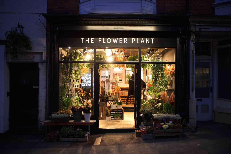 The Flower Plant store shop front