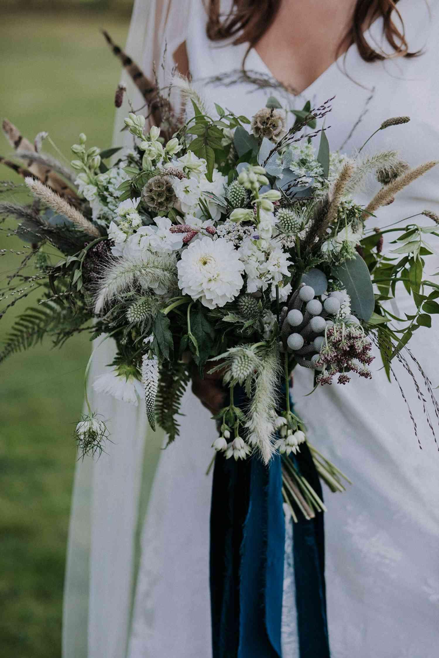 Wild Boho Elegant Bridal Bouquet