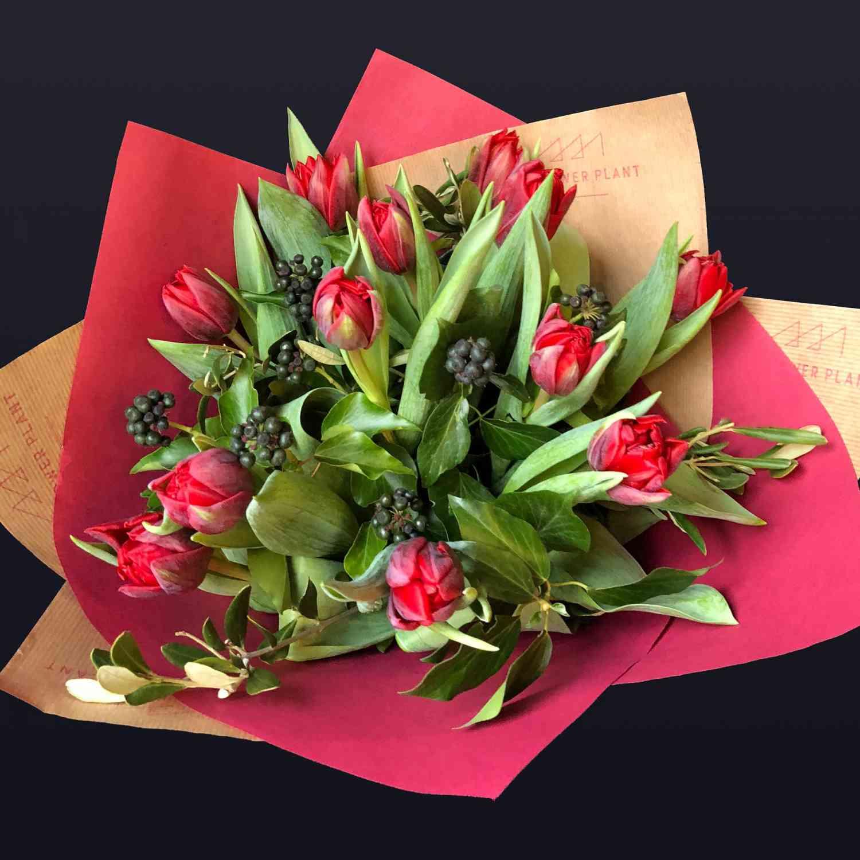 Tulip Valentines Hand Tie