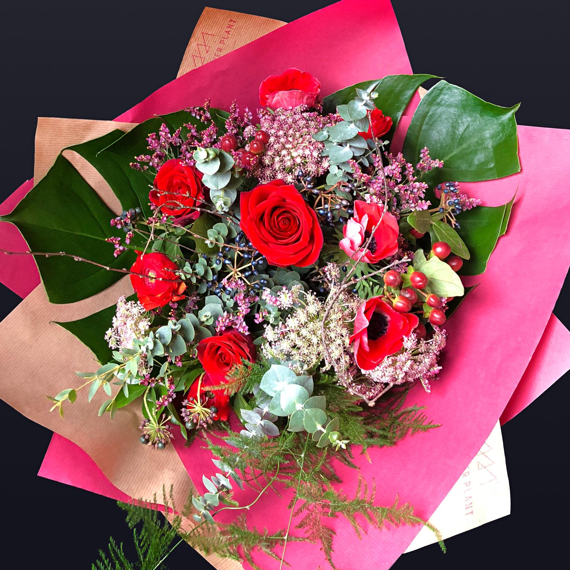 Luxury bouquet valentines day the flower plant luxury mixed valentines hand tied izmirmasajfo