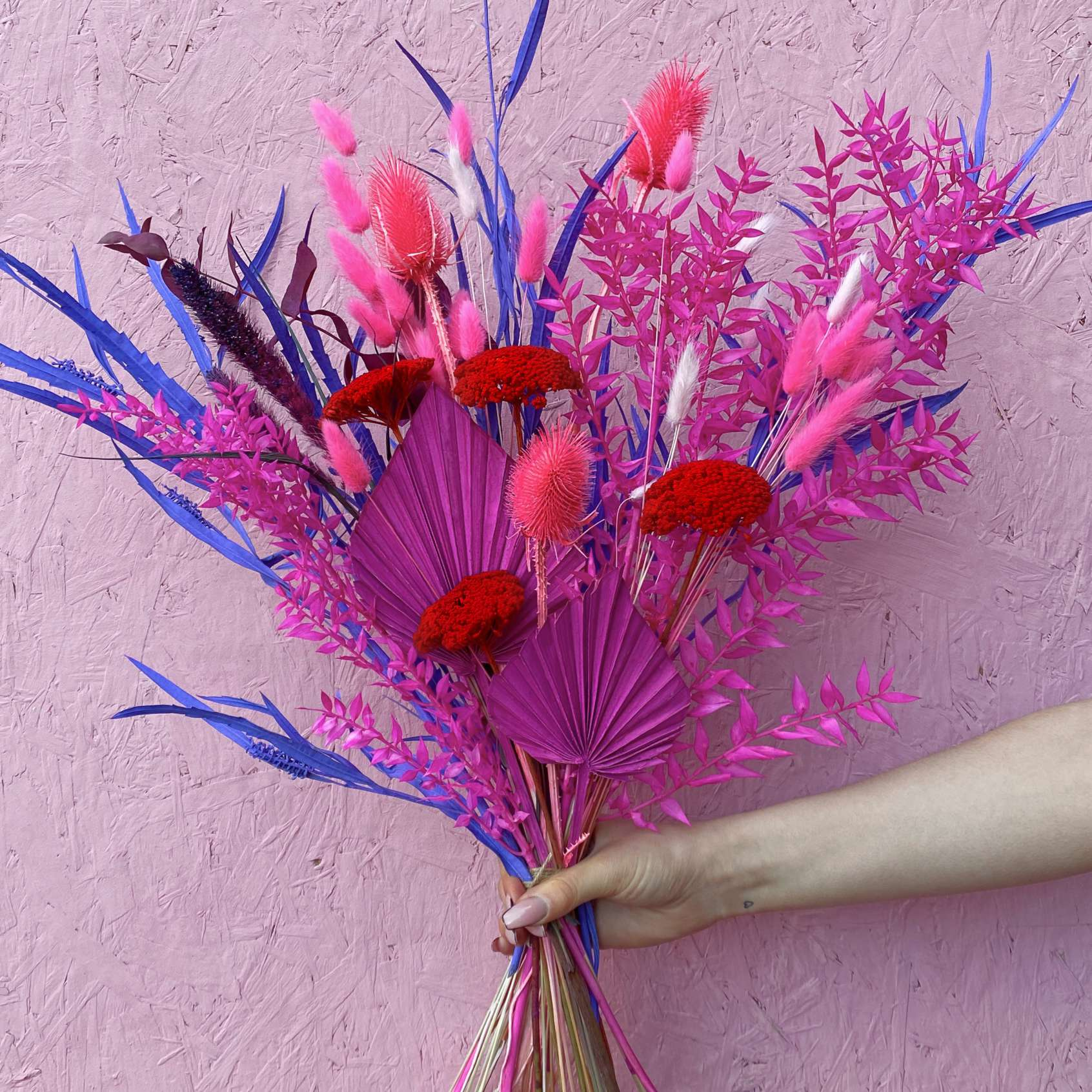 Monica Chandler Colourful Dried Flowers The Flower Plant