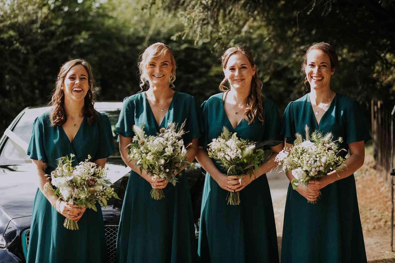 Boho Wild Bridesmaids