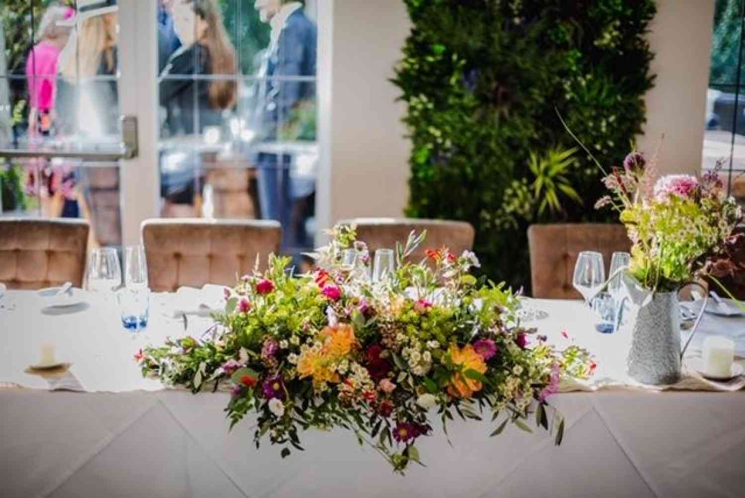 Vibrant Coloured Table Decoration